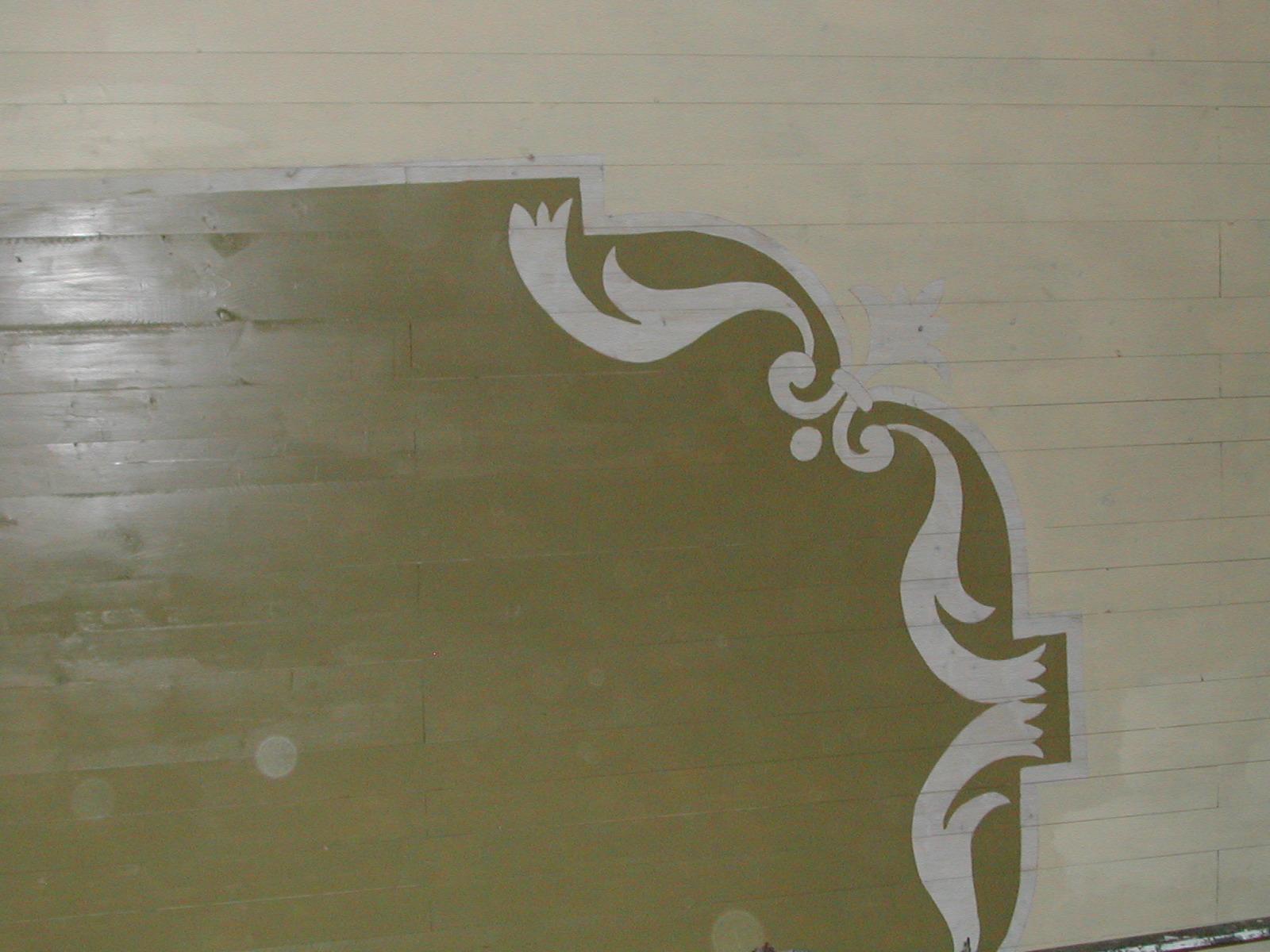 Rifacimento delle decorazioni del soffitto