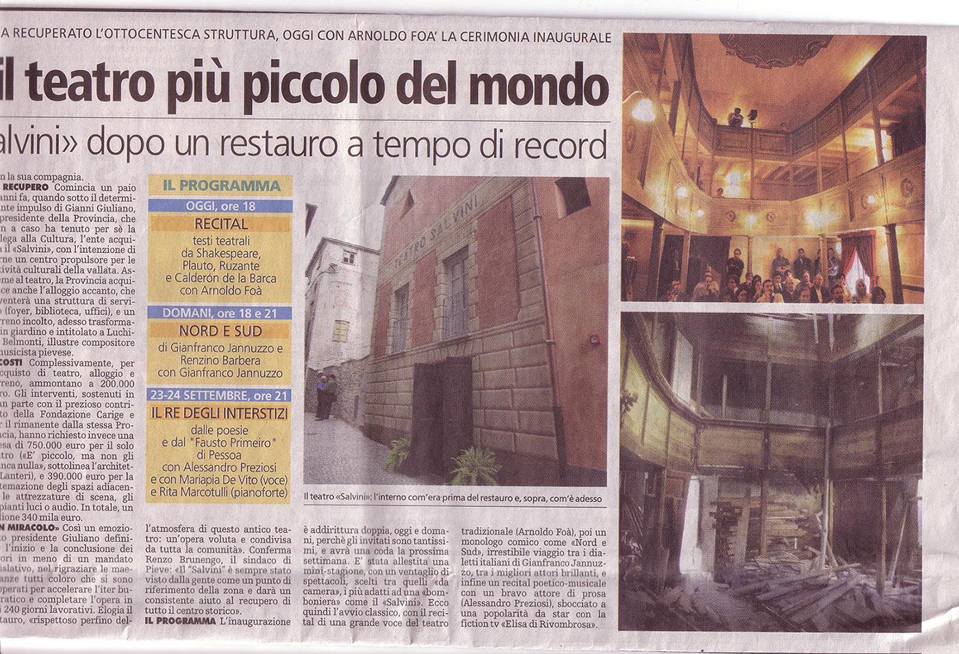 La Stampa, 17/9/2004