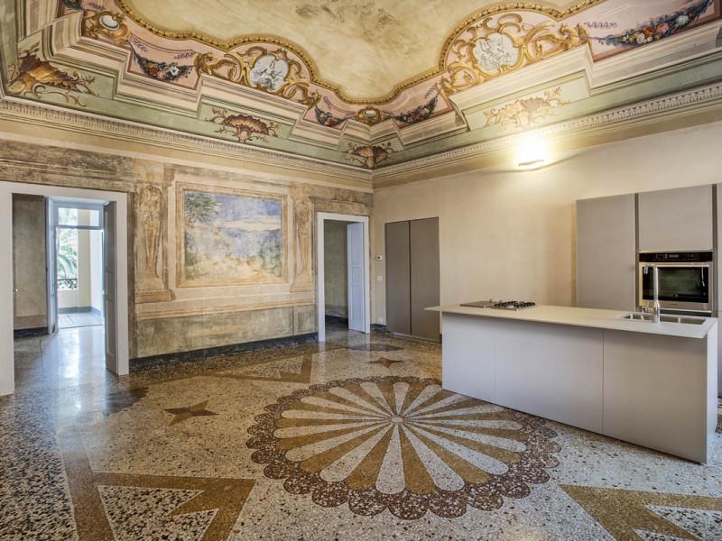 Casa G è un appartamento privato ristrutturato da Formento Restauri, una ditta edile a Finale Ligure, Savona.