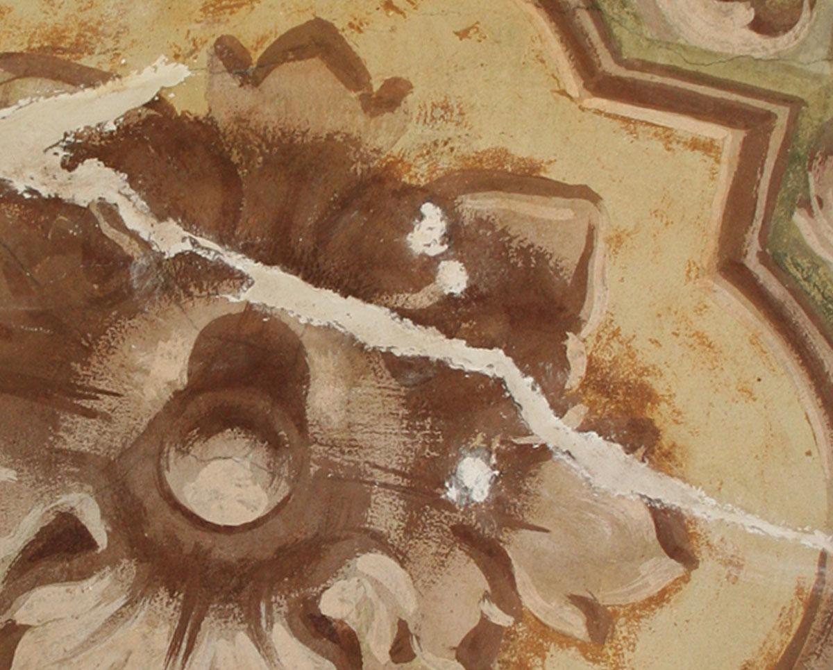 Consolidamento con iniezioni di malta e inserimento di barre filettate
