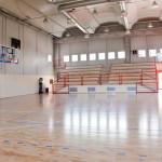 Il Palasport G.Guzzetti, una nuova costruzione della ditta edile Formento Restauri di Finale Ligure, Savona.