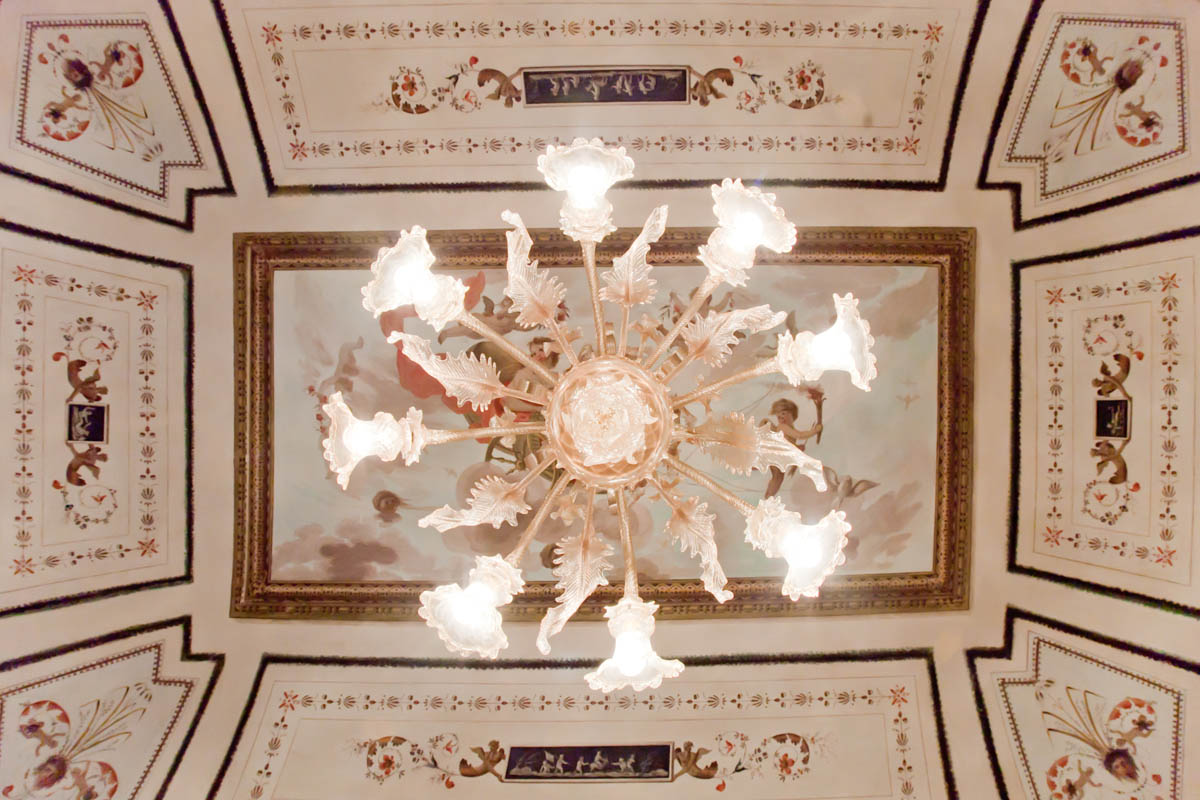 Panoramica dei soffitti