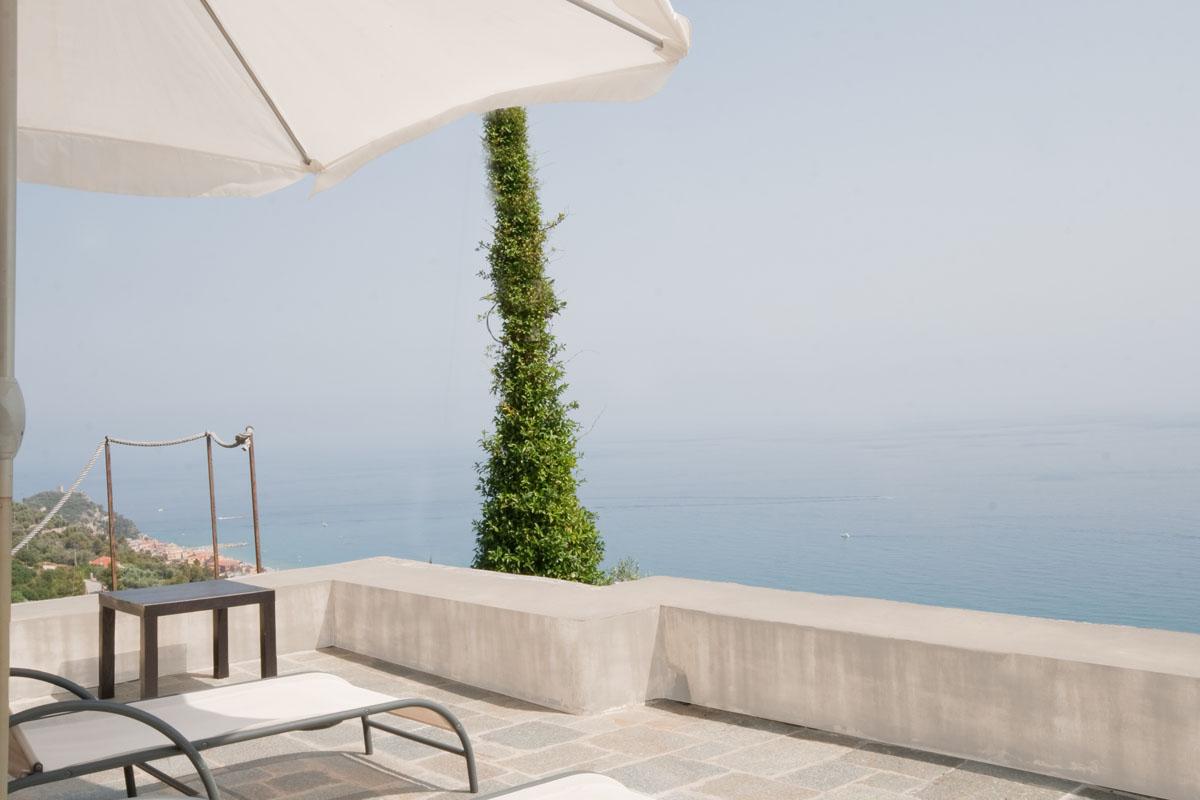 Giardino e terrazza panoramica
