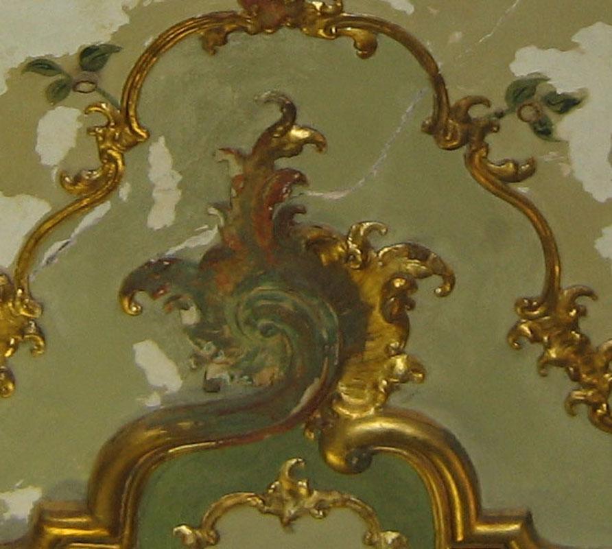 Dorature compromesse a causa di un cattivo restauro eseguito in passato con l'utilizzo della bronzina