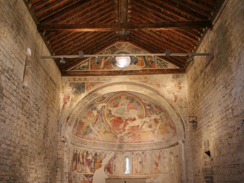La Chiesa di San Giovanni Battista dopo l'opera di restauro di Formento Restauri, ditta edile con sede a Finale Ligure, Savona.