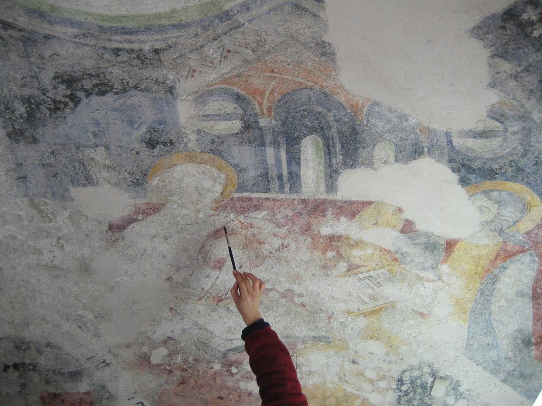 Restauro pittorico delle decorazioni murali