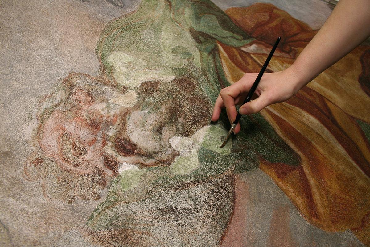 Integrazione pittorica ad acquerello