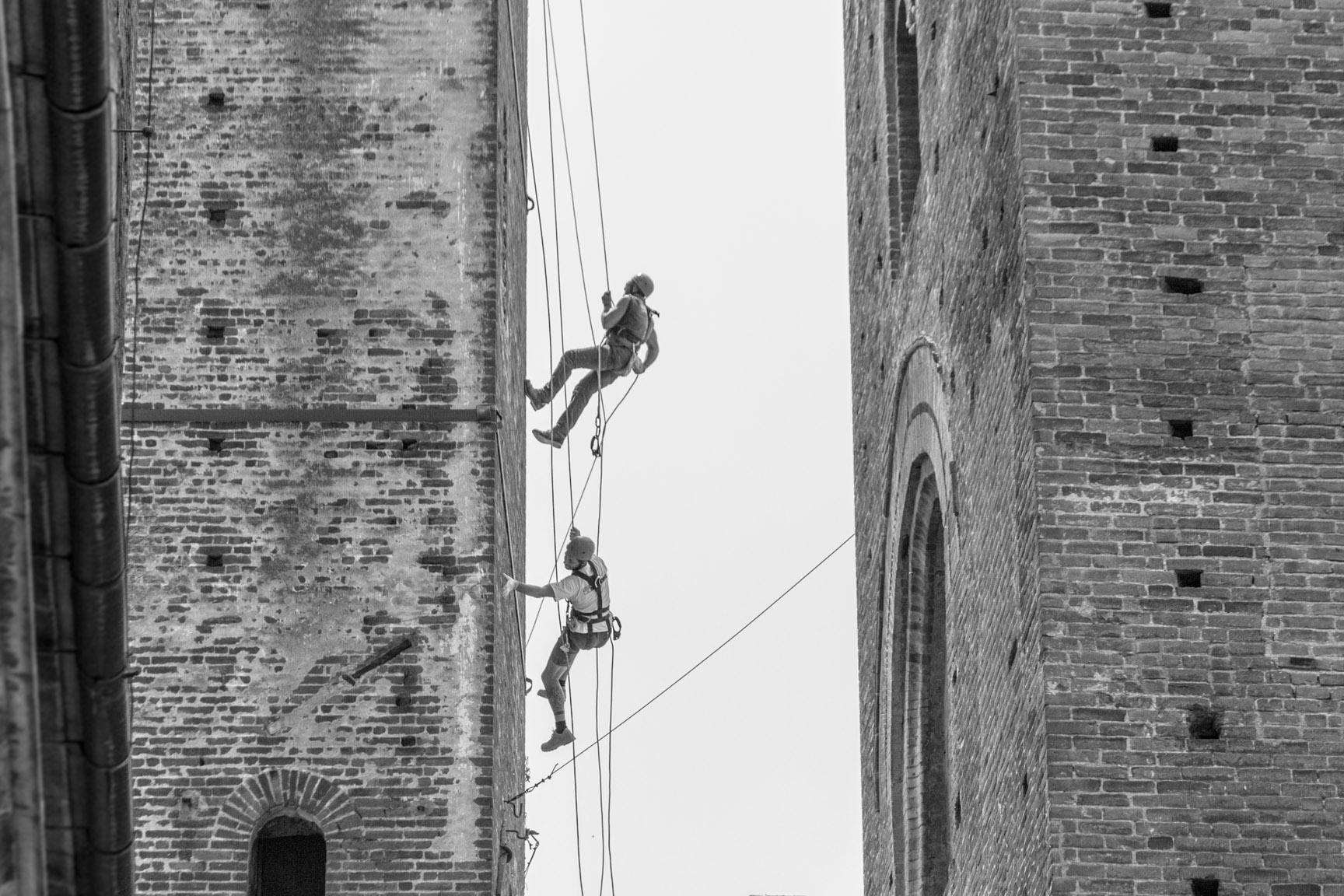 Lavori in quota Torre Albenga